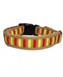 George Mod-Stripe Dog Collar, Leash and Harness Collection
