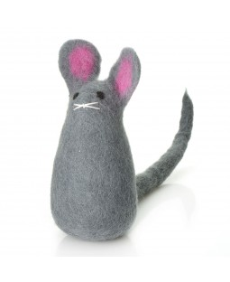Felted Wool Mouse