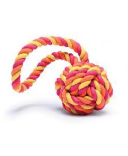Harry Barker Tug & Toss Rope Toy - Multi Color