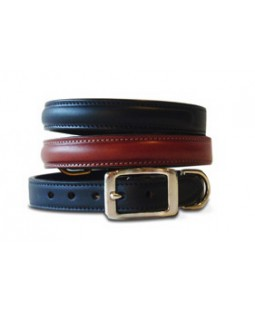 Basic Leather Dog Collar - Made in USA