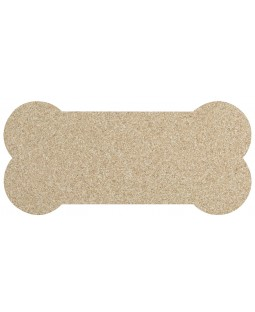 Skinny Bone Natural Recycled Rubber Dog Mat