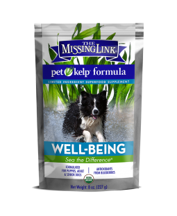 Pet Kelp Well-Being Formula - with Antioxidant-Rich Blueberries