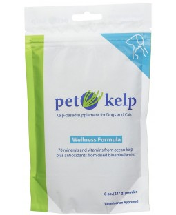 Pet Kelp Wellness Formula - with Antioxidant-Rich Blueberries
