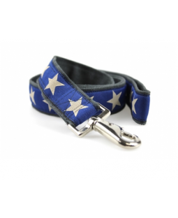 Earthdog Hemp Stars Dog Leash