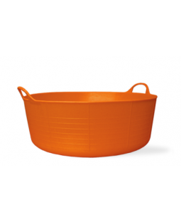 Small Shallow Tubtrug - Orange