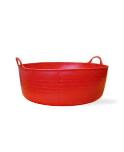 Small Shallow Tubtrug - Red