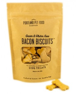Grain & Gluten-Free Bacon Biscuit Dog Treats