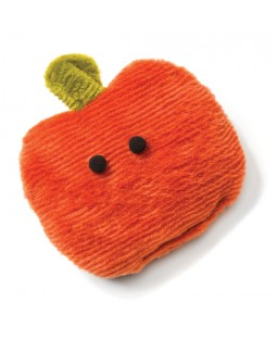 Squeaky Pumpkin Dog Toy - West Paw