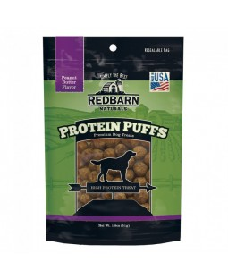 Redbarn Peanut Butter Protein Puffs Dog Treats
