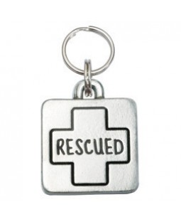 Rescued Dog ID Tag