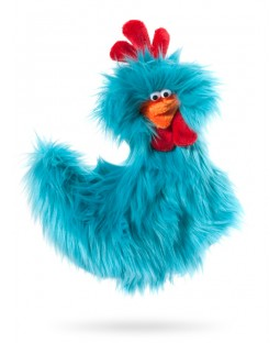 West Paw Rowdy Rooster - Turquoise Blue
