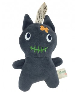 Simply Fido Halloween Plush Black Cat