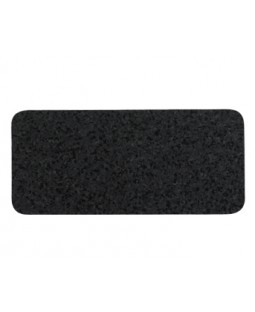 Skinny Black Recycled Rubber Dog Mat