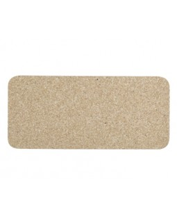 Skinny Natural Recycled Rubber Dog Mat