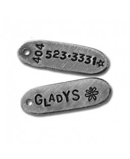 The Skinny Aluminum Tag