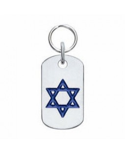 Star of David Dog ID Tag