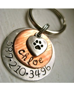 The Chloe Handcrafted ID Tag