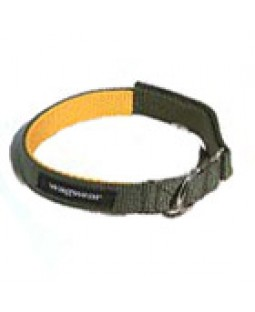 Nylon Contrast Collar - Yellow