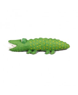 Ware of the Dog Fuzzy Felted Alligator Toy