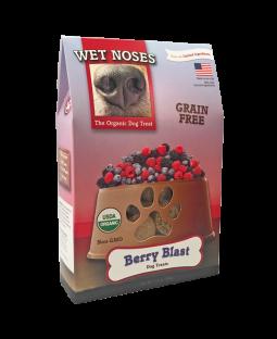 Wet Noses Berry Blast Grain Free Organic Dog Treats