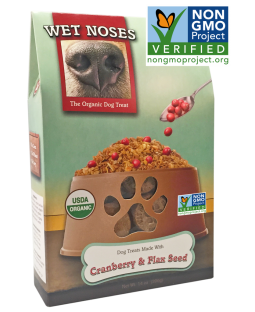 Wet Noses Cranberry Flax Seed Treats
