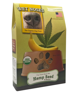 Wet Noses Hemp Seeds and Bananas Treats
