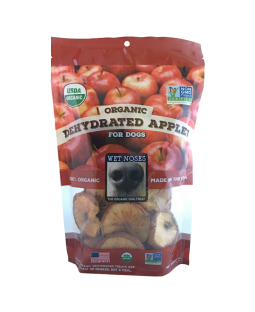 Wet Noses Organic Dried Apple Round Slices