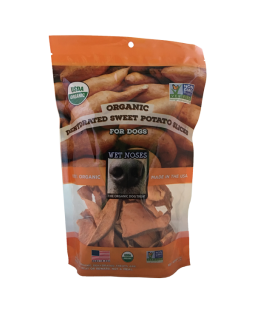 Organic Dried Sweet Potato Slices
