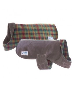 Billy Wolf Wyatt Reversible Dog Coat